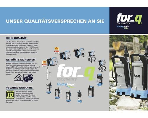Tiefbrunnenpumpe For Q Fq Tp 5 800 N Inkl 23 M Ablassseil Und Externe Schaltbox Bei Hornbach Kaufen