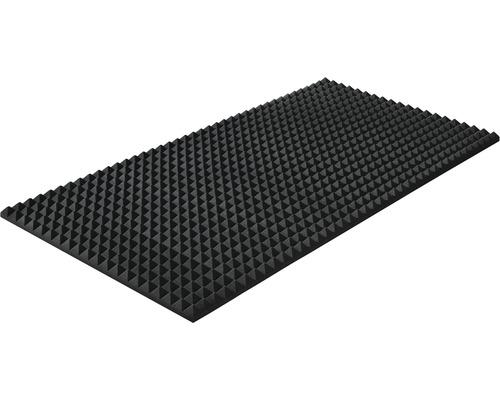 Akustik-Schaumstoff Akupur Pyramidenplatte 200x100x7 cm