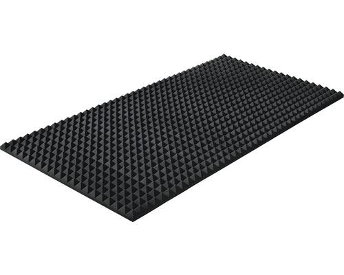 Akustik-Schaumstoff Akupur Pyramidenplatte 200x100x3 cm
