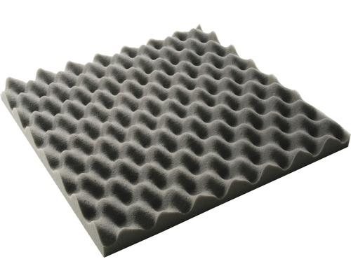 Akustik-Schaumstoff Akupur Noppenplatte 40x40x5 cm