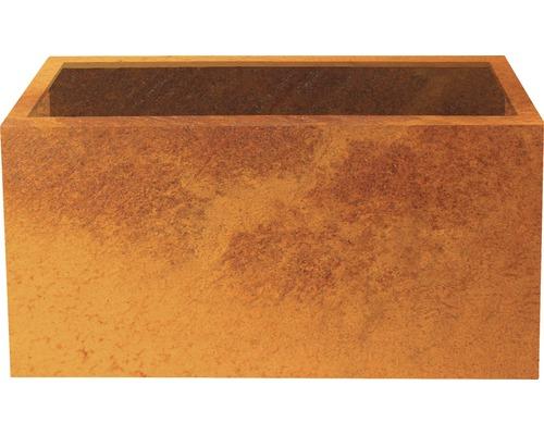 Pflanzgefäß Lotte 100 x 40 x 50 cm Metall braun