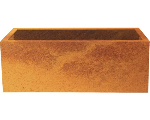 Pflanzkübel Palatino Lotte Corten-Stahl 150x40x50 cm rost