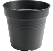 Pflanztopf elho Green Basics Kunststoff Ø 11 H 10 cm schwarz