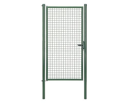 Wellengittertor 102 x 200 cm, grün
