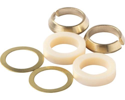 """Gold 2 Stück Quetschverschraubung 3//8/"""" x 10 mm"""