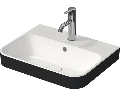 DURAVIT Aufsatzwaschbecken 50 x 40 cm Happy D.2 Plus Anthrazit/weiß 2360506100