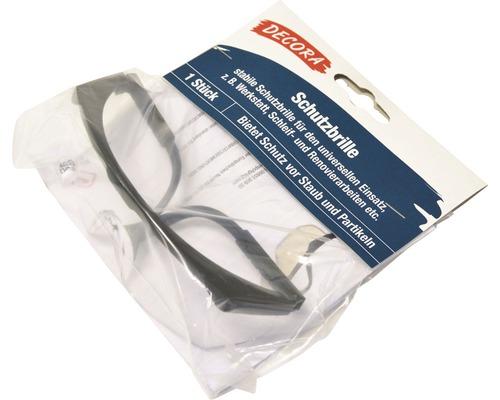 Schutzbrille Kunststoff schwarz