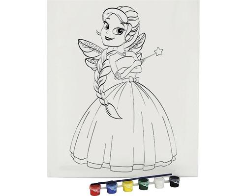 Ausmalbild Prinzessin 30x40