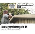 Blockbohlenhaus SKAN HOLZ She Shed Ostende mit Fußboden 350 x 250 cm natur
