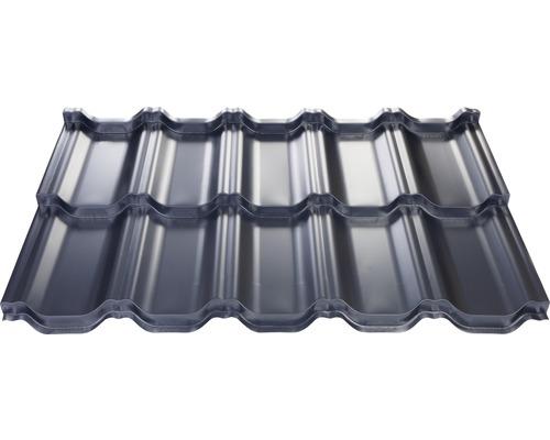 PRECIT Metallziegel Sierra antrhacite grey RAL 7016 745 x 1198 x 0,5 mm