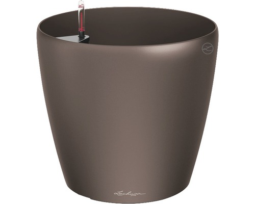 Blumentopf Lechuza Classico Ø 60 x H 56 cm espresso ohne Erdbewässerungsset