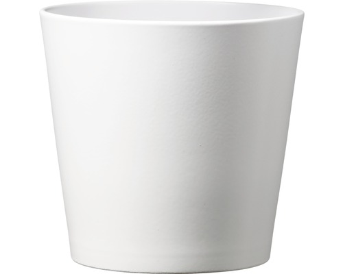 Übertopf Dallas Esprit Ø 12 cm H 9 cm Keramik weiß
