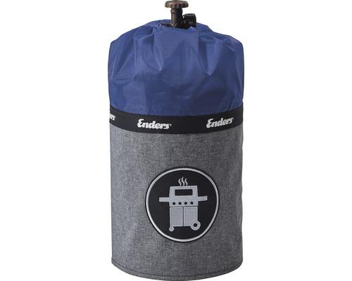 Enders Schutzhülle Gasflaschenhülle Abdeckhülle Style passend für 5 kg Gasflaschen Polyester blau wasserabweisend feuerfest UV-Schutz inkl. Silikonfüße