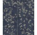Vliestapete 416657 Finca Botanical Blau