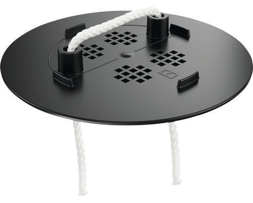 Pflanzplatte Sticksystem für Ojo, Yula und Cube Kunststoff schwarz