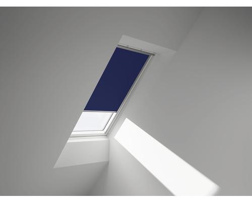 VELUX Verdunkelungsrollo blau uni manuell DKL S04 2055SWL