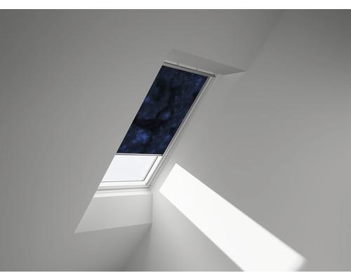 VELUX Verdunkelungsrollo Sterne blau manuell DKL UK08 4653SWL