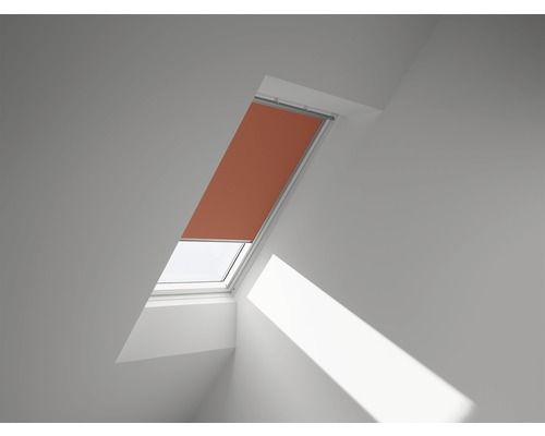 VELUX Verdunkelungsrollo uni orange manuell DKL UK04 4564SWL