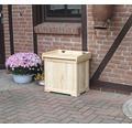 Kissenbox Patrick 56 x 43 cm Holz natur