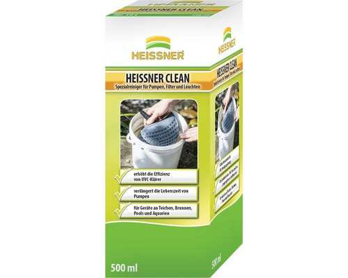 Spezial-Reiniger HEISSNER Heissner Clean für Pumpen, Filter und Lampen 500 ml