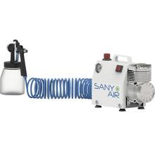 Aerotec SANY AIR Kompressor zum Desinfizieren von Oberflächen inkl. Zerstäuberflasche, Komplettpaket 230V