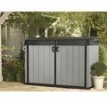 Garten-Gerätebox tepro Grande Store 2100 l 190,5x109,3x132,5 cm Holzoptik DUOTECH