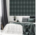Vliestapete 108614 Prestige Heritage Tweed grau