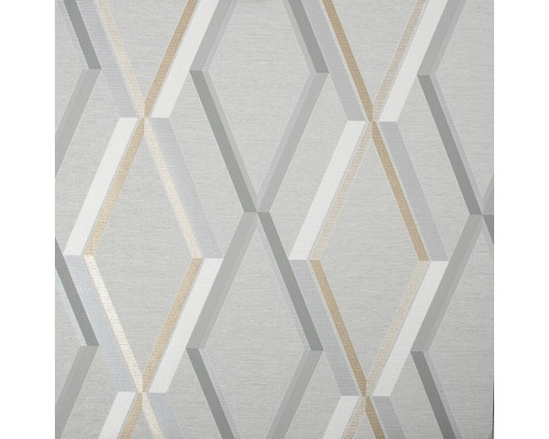 Vliestapete 108607 Prestige Geometrisch Grau