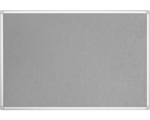 Filztafel grau 120x90 cm