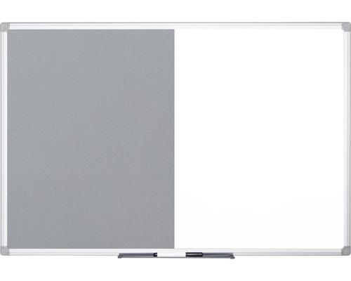 Kombitafel Filz- und Magnettafel 150x120 cm