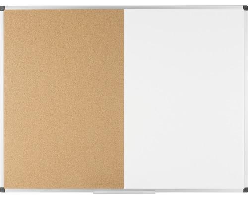 Kombitafel Kork- und Magnettafel 150x120 cm
