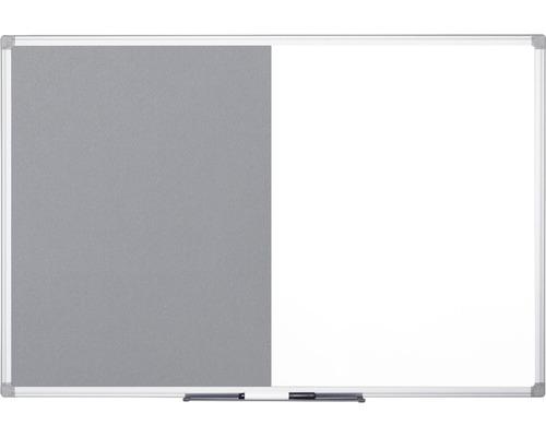 Kombitafel Filz- und Magnettafel 120x120 cm