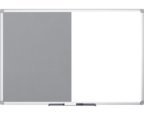 Kombitafel Filz- und Magnettafel 180x90 cm