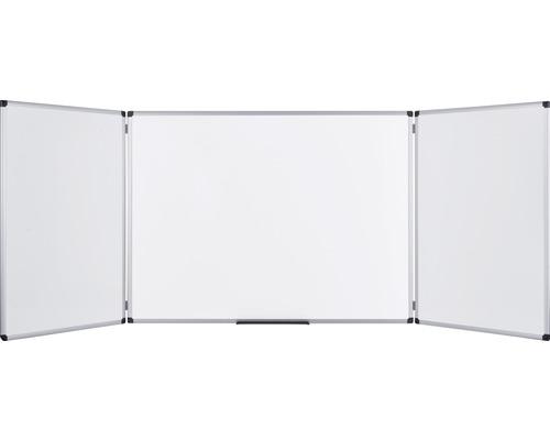 Maya Trio emaillierte Klapptafel 180x60 cm