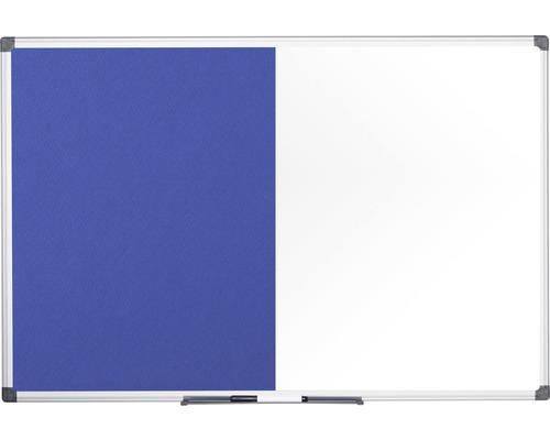Kombitafel Filz- und Magnettafel 120x90 cm