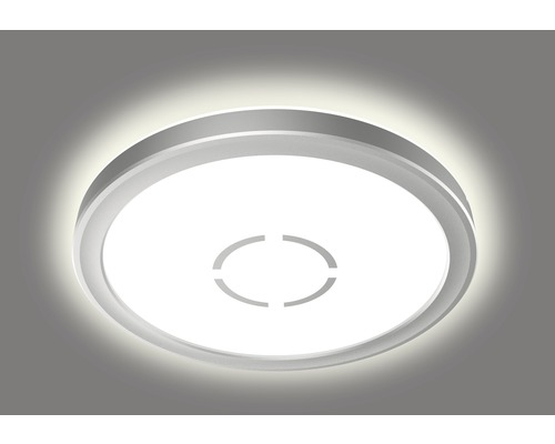 LED Deckenleuchte ultraflach 12W 1400 lm 4000 K neutralweiß HxØ 28/190 mm Free weiß/silber