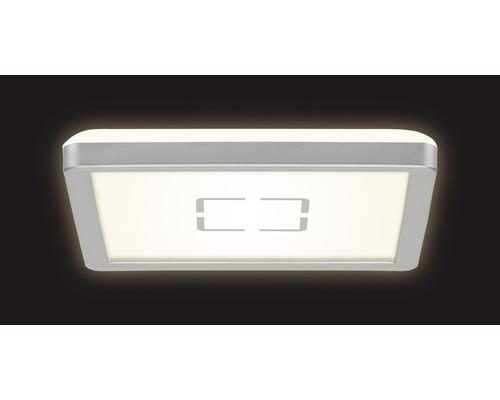 LED Deckenleuchte ultraflach 12W 1400 lm 4000 K neutralweiß HxLxB 28/190/190 mm Free weiß/silber
