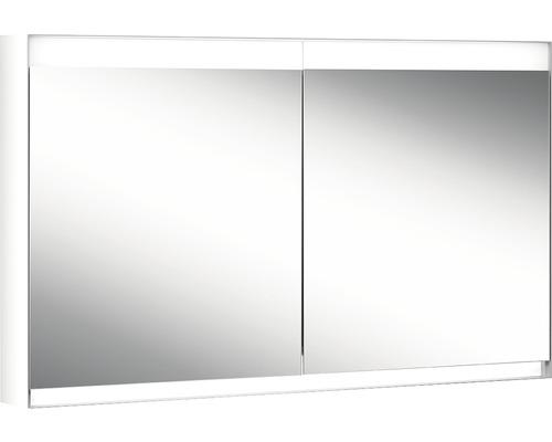 Spiegelschrank ALS1 120/2/HCL grau 2-türig h x b x t 76 cm x 120 cm x 15 cm