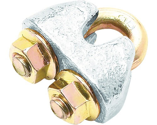 Drahtseilklemme Pösamo Ø 8 mm Stahl verzinkt 10 Stück