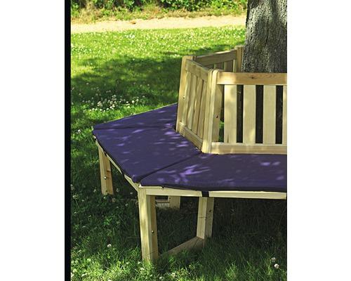 Sitzauflage für Baumbank 180° Baumwolle blau
