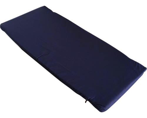 2-er Set Sitzauflagen zu 360/0 Baumwolle blau