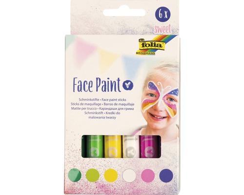 Face Paint Set sweet, 6 Stifte
