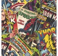 Papiertapete 106378 Kids@Home Marvel Cover