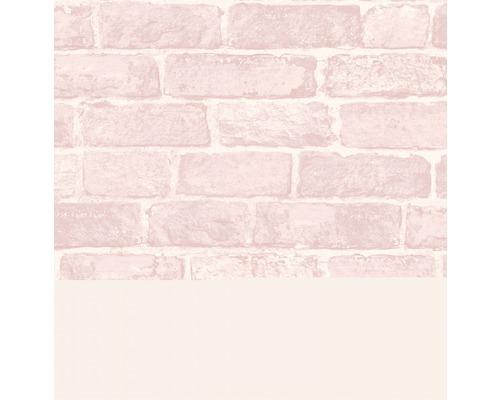 Papiertapete 108591 Kids@Home Brick Pink
