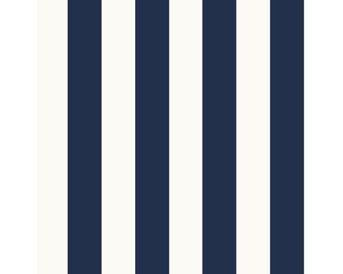 Vliestapete 108557 Kids@Home Stripe Blau