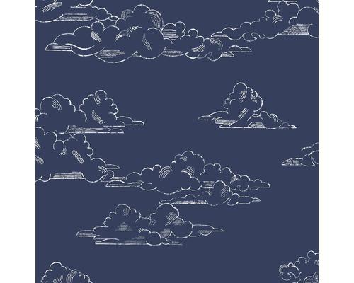 Vliestapete 108554 Kids@Home Vintage Cloud