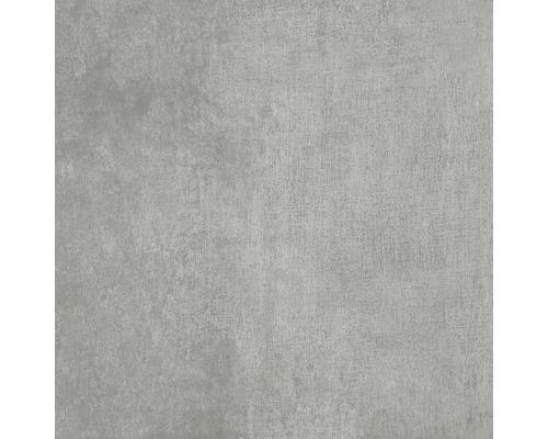 Wand- und Bodenfliese Industrial Steel anpoliert 80 x 80 cm