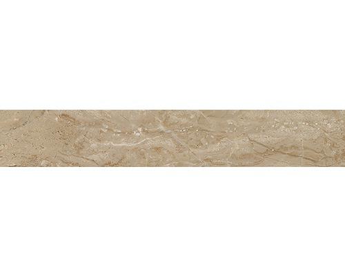 Sockel Sicilia Miele poliert braun 10x60 cm
