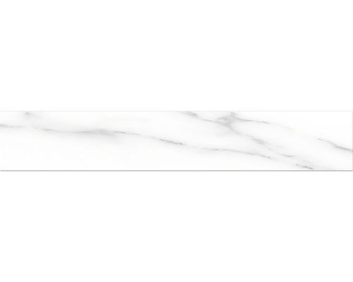 Sockel Macael white poliert grau 10x60 cm