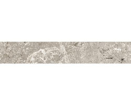 Sockel Anden Natural matt grau 10x60 cm